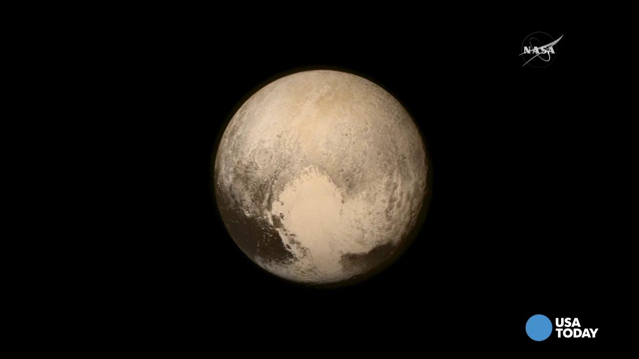 Never-before-seen image of Pluto revealed