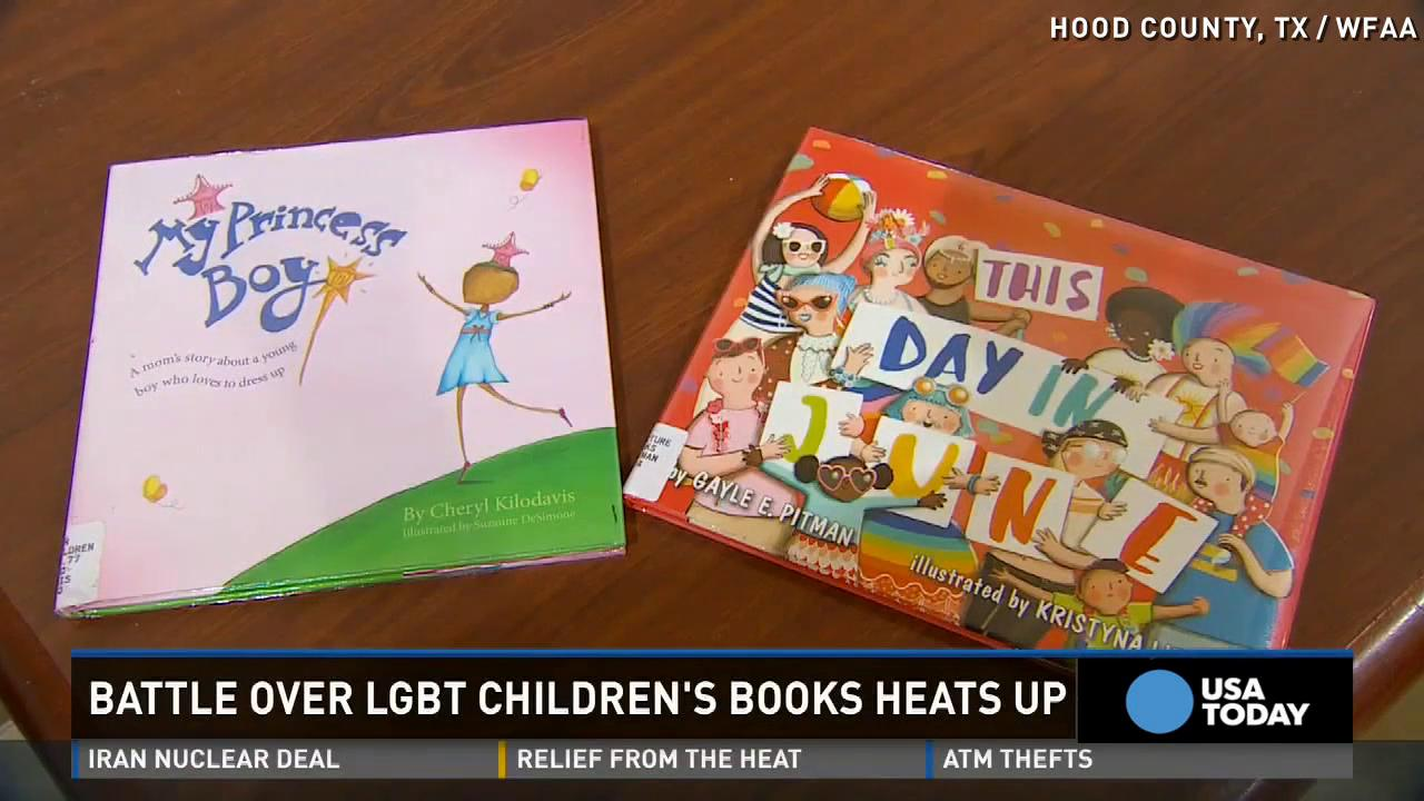 Community outraged over LGBT children's books