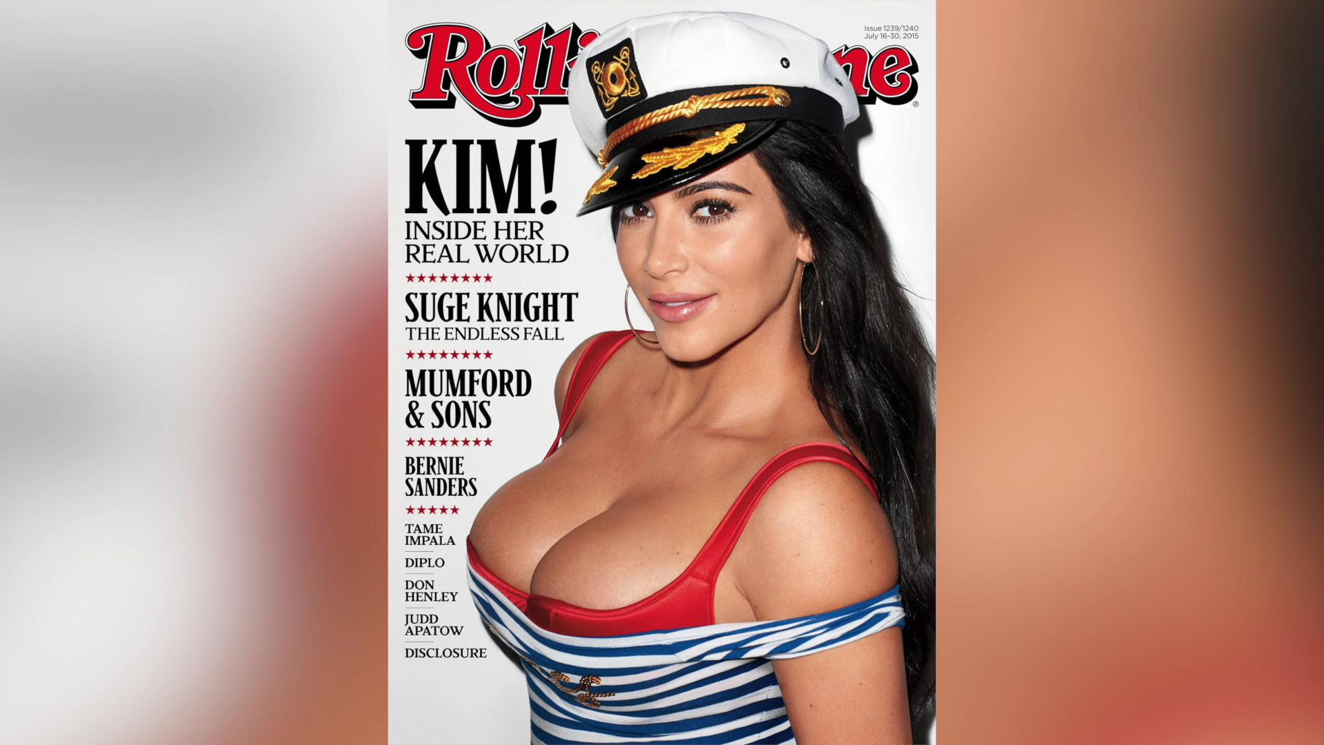 Kim K Rolling Stone cover has Sinead O'Connor calling for boycott