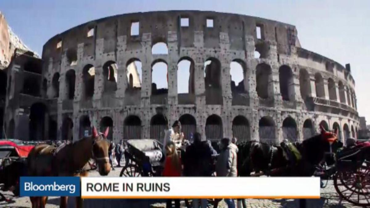 Bloomberg's Pimm Fox reports on Rome's infrastructure and quality of life woes.