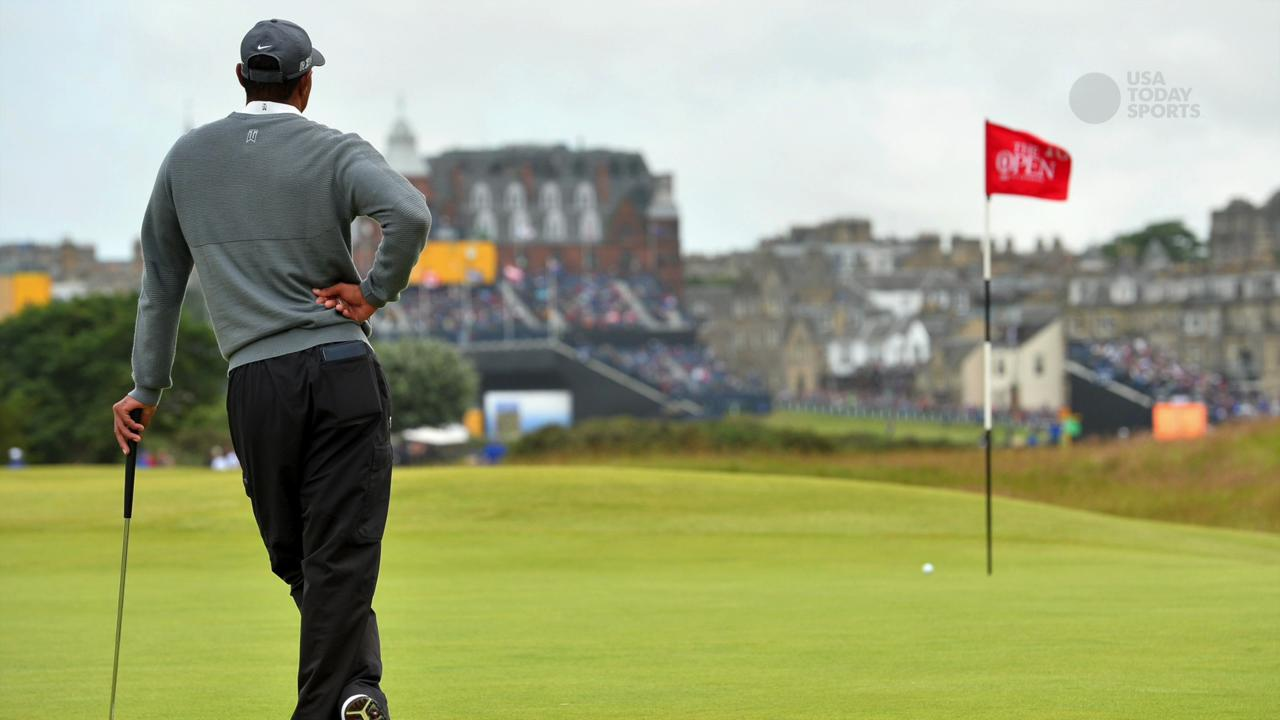 Tiger Woods' disastrous Round 1 at British Open