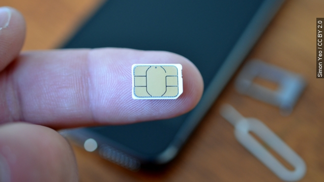 SIM cards might not be necessary in your next phone