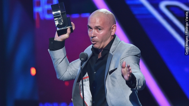 Pitbull tells Donald Trump to 'Watch Out' for El Chapo