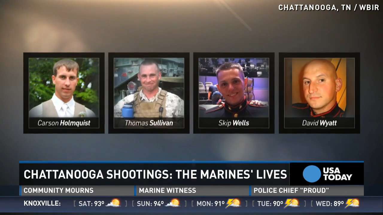 Marines killed in Chattanooga include Purple Heart recipient