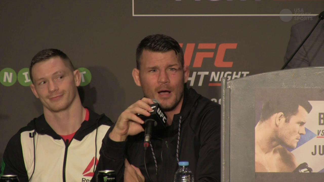 Michael Bisping says toe injury was never going to stop his fight