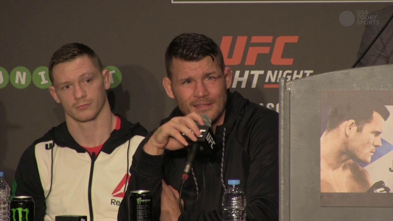 Michael Bisping says toe injury was never going to stop his UFC Fight Night 72 bout