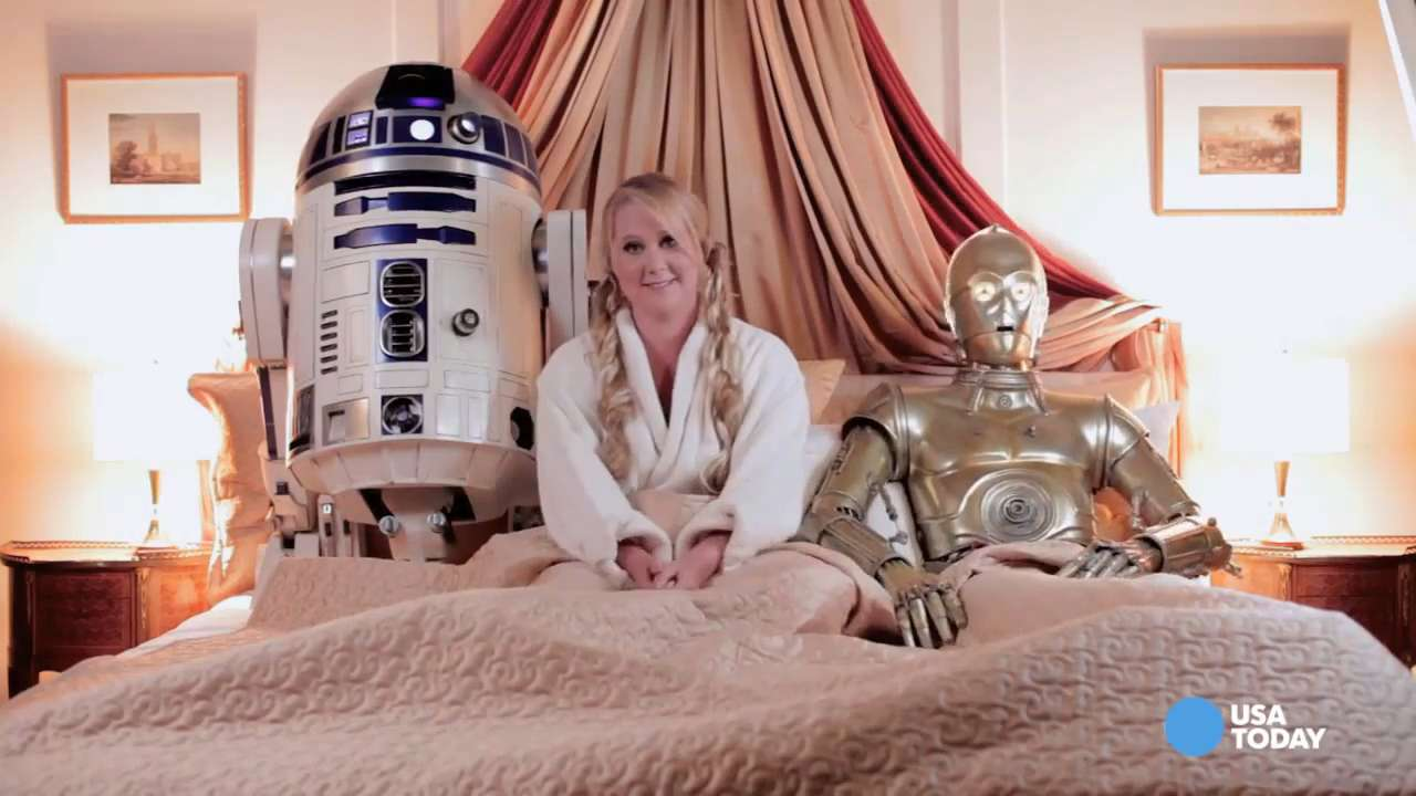 Disney: Amy Schumer 'Star Wars' shoot 'inappropriate'