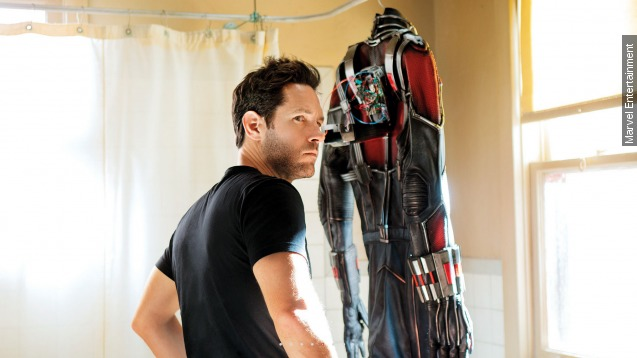 Box office top 3: Ant-Man debut is small but mighty