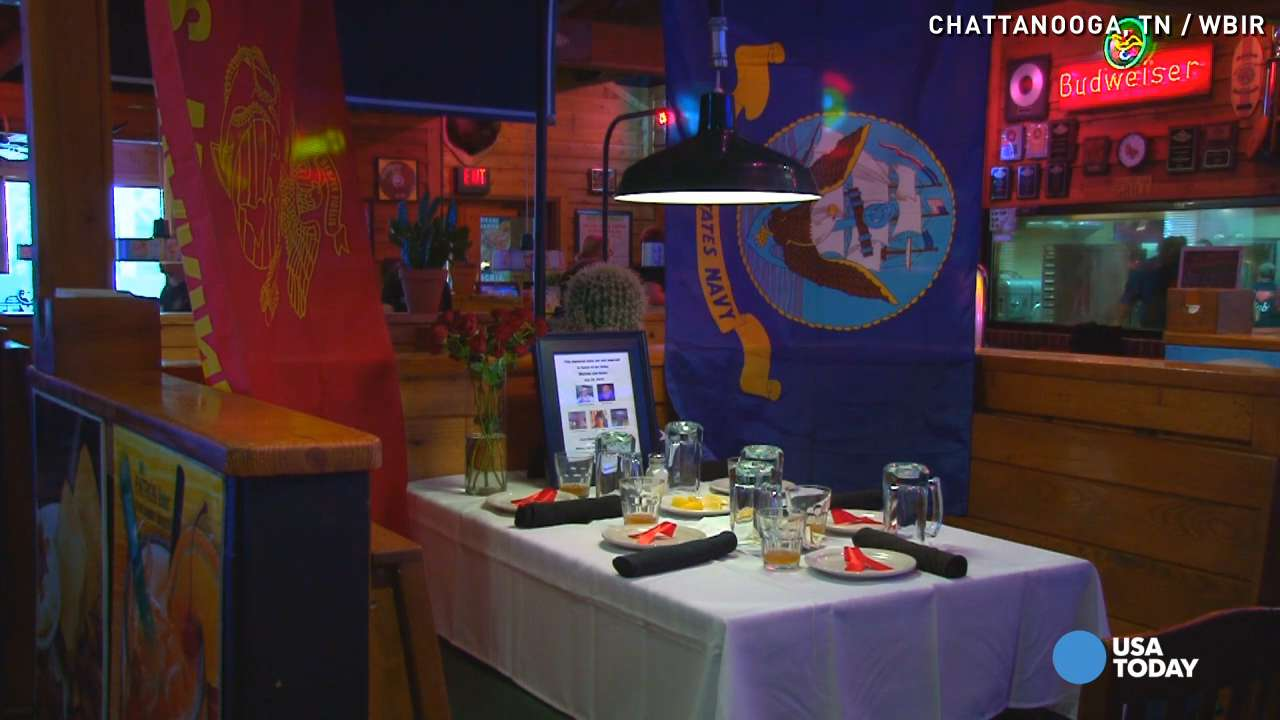 Table reserved in honor of slain Chattanooga servicemen