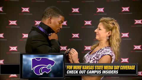 Can Kansas State's Dante Barnett Really Tie A Bow Tie?