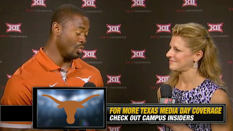 Texas' Johnathan Gray On Charlie Strong