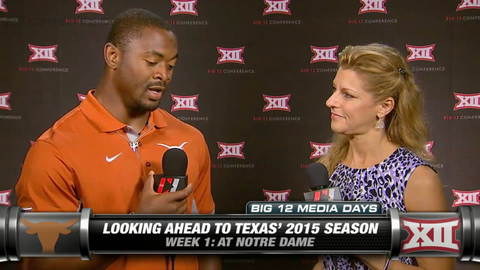 Texas' Johnathan Gray On Having The Backfield To Himself