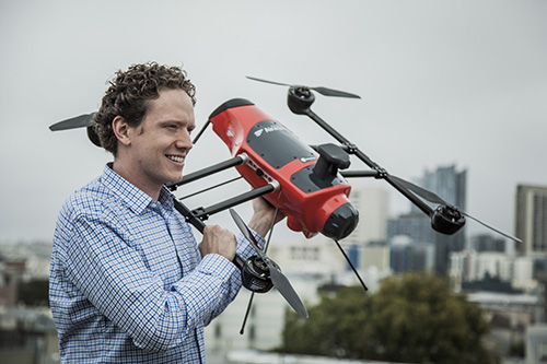 Jonathan Downey navigates future of drones
