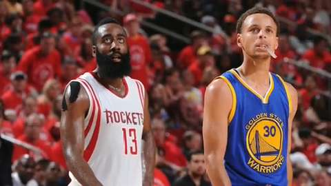 NBA Daily Hype: NBPA's MVP? James Harden or Steph Curry?