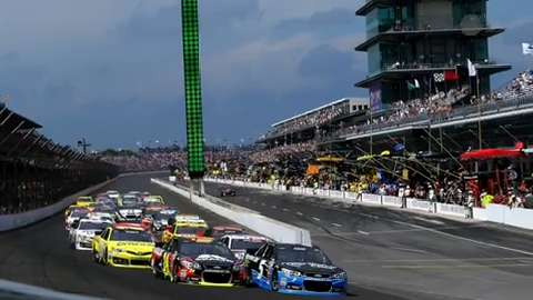 USA Today Sports' Jeff Gluck breaks down the Jeff Kyle 400 at The Brickyard.