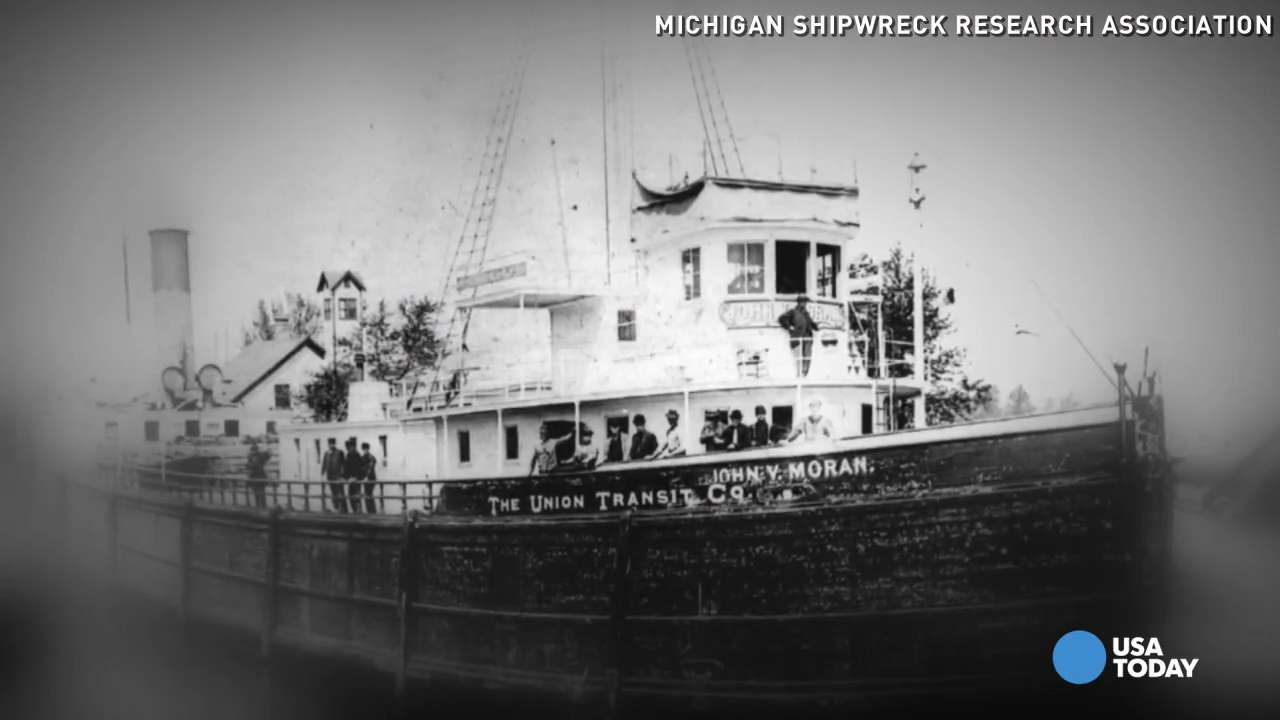 Historic shipwreck from 1899 found in Lake Michigan