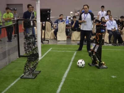 US Beats Iran in Overtime at Robocup Tournament