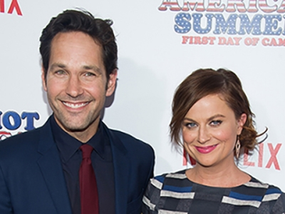 Rudd and Poehler Camp Out on Red Carpet