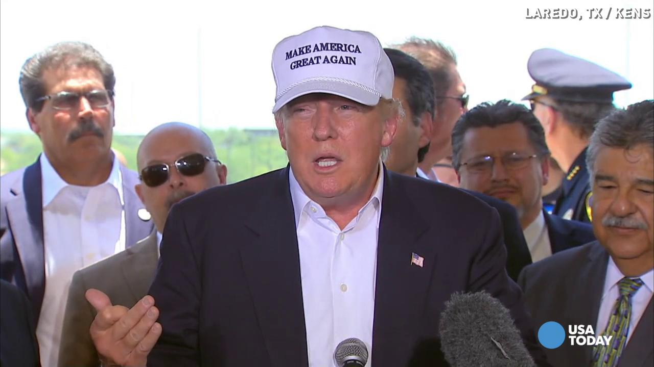 Trump: 'There is great danger with the illegals'
