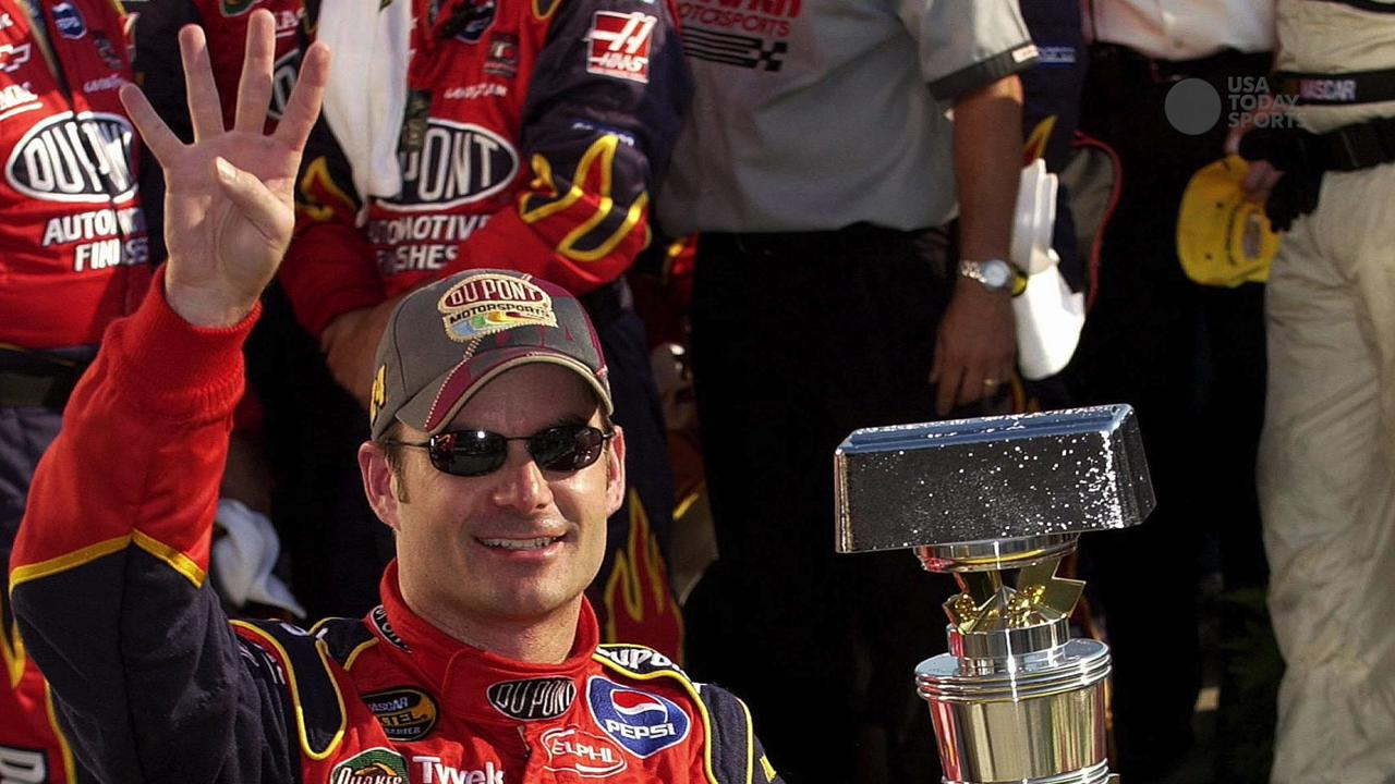 Jeff Gordon says goodbye to the Brickyard