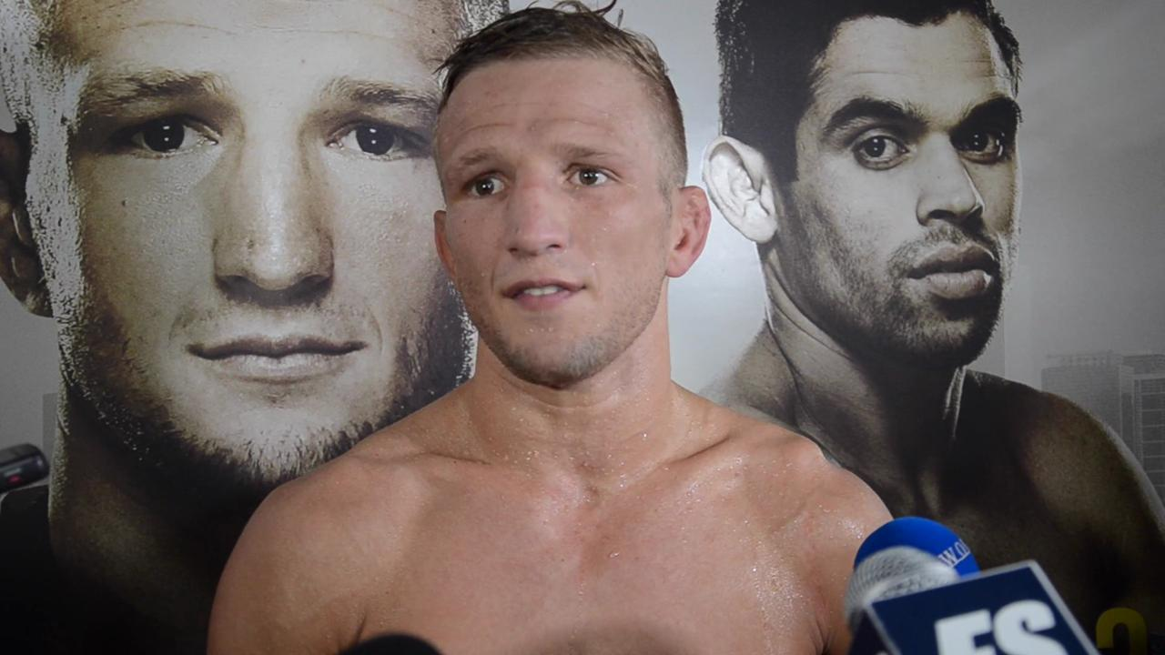 T.J. Dillashaw not holding grudge against Barao: 'He's the one that's unprofessional'