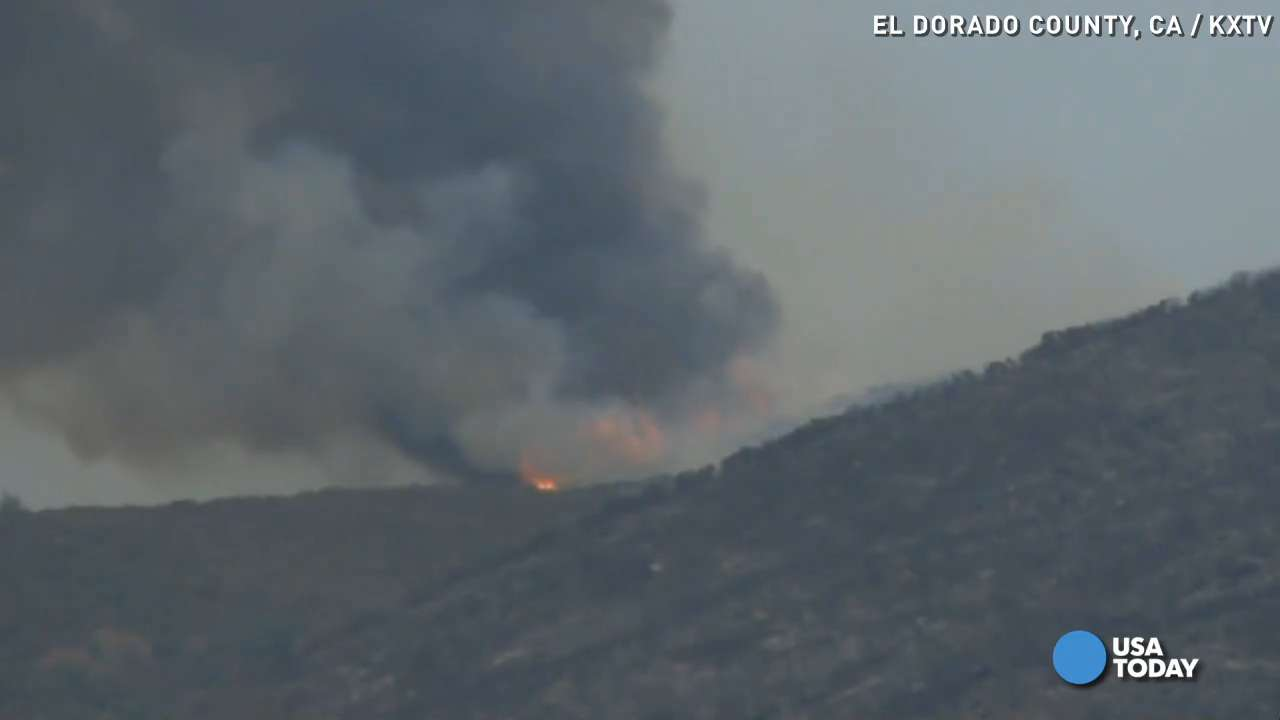 Wragg fire burns thousands of acres in California