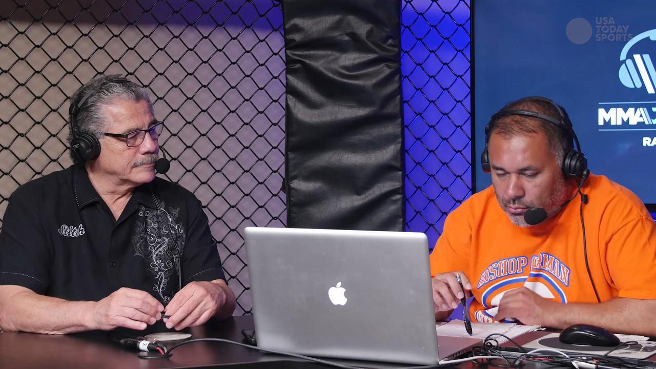 "Burt Watson calls to show support for ""Stitch"" Duran during MMAjunkie Radio show"