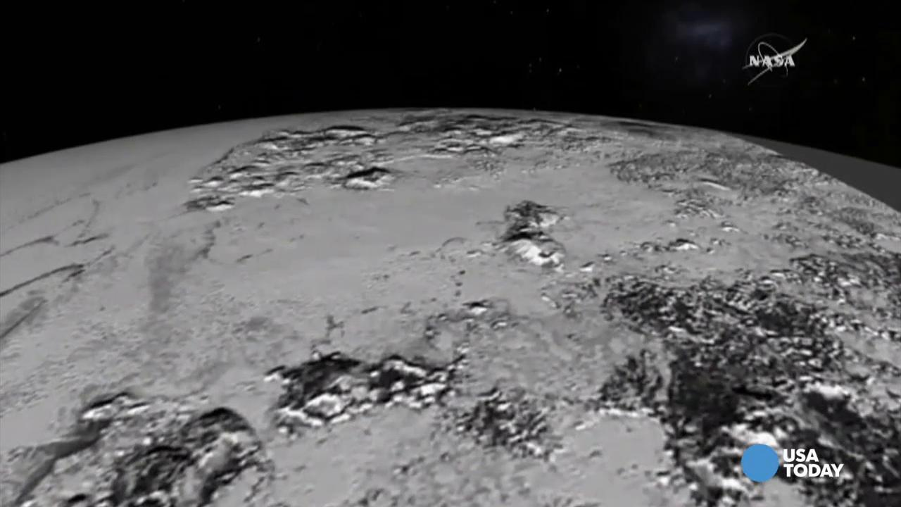 Take a tour of Pluto's mountain ranges