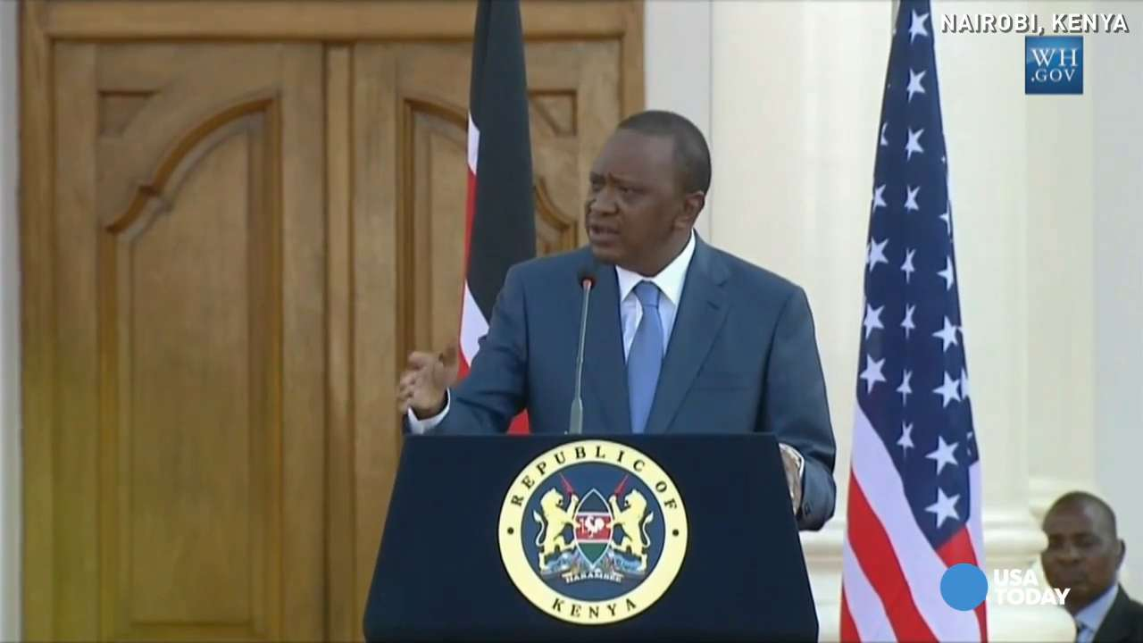 Kenya president: Gay rights is a 'non-issue'