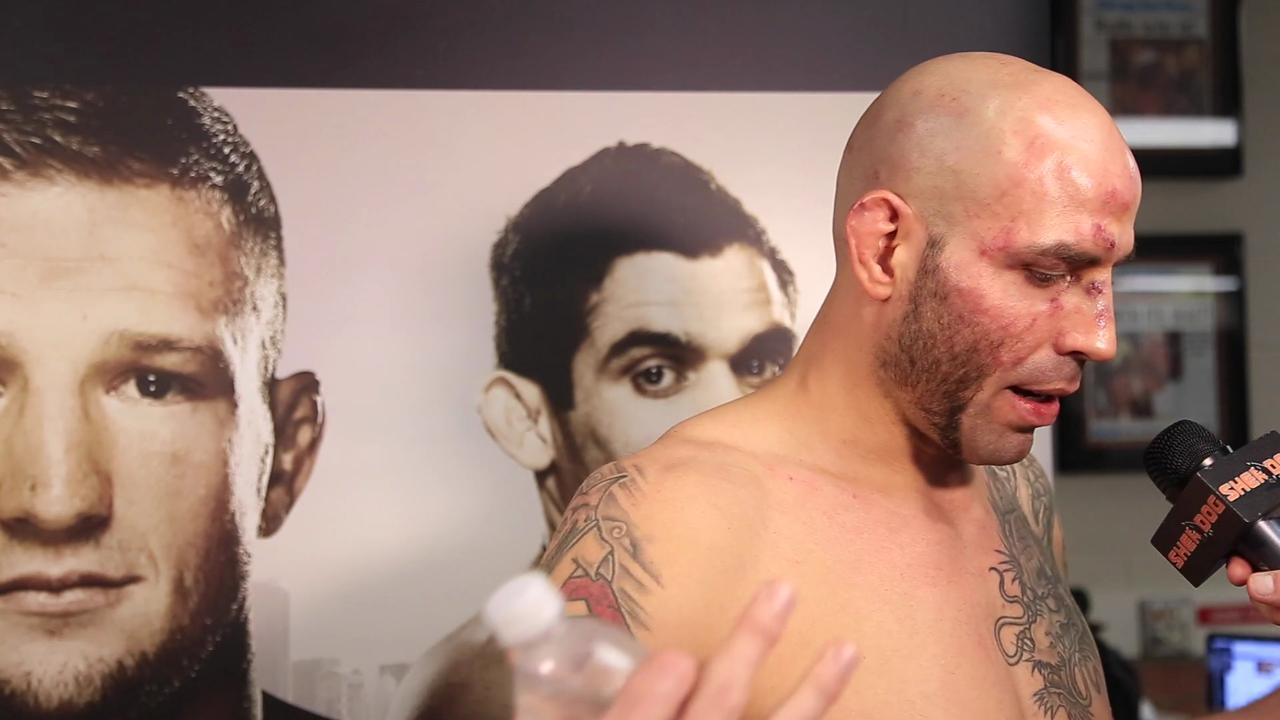 UFC's Ben Saunders: 'I wish I could teleport out of me and watch me fight'