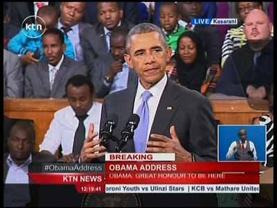 Obama Urges Kenya To Use Past To Guide Future
