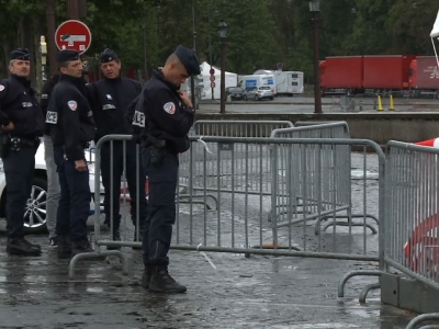 French Police on Alert After Barricade Crash