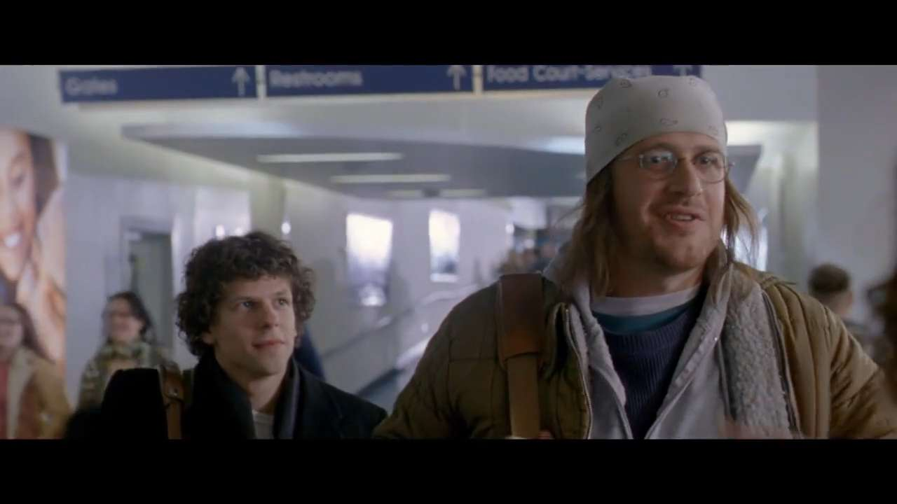 """In this image released by A24 Films, Jason Segel appears in a scene from the film, """"The End of the Tour."""" (A24 Films via AP)"""