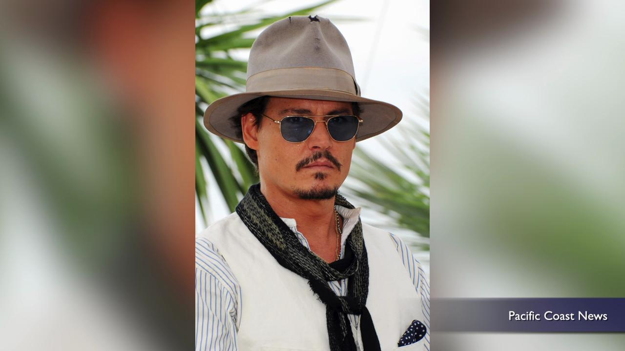 Watch Johnny Depp nurse a baby bat in full Jack Sparrow costume