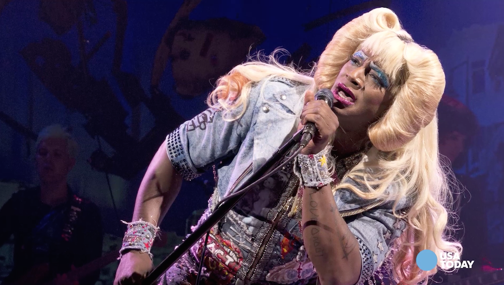Taye Diggs talks Hedwig, shows off his glittered nails