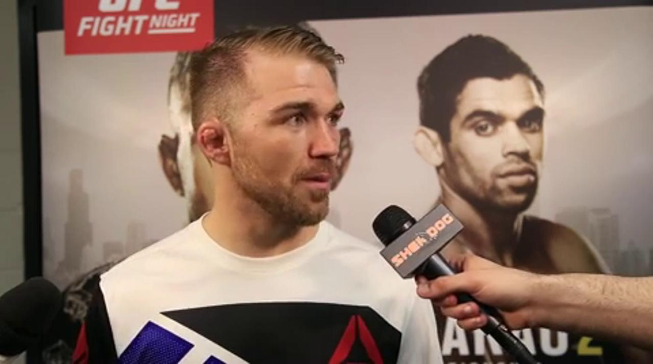 Bryan Caraway on outstriking Wineland: 'I'm a mixed martial artist'