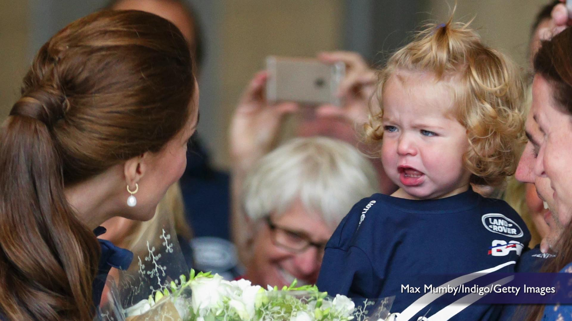 Little girl meets the Duchess of Cambridge, is entirely unimpressed