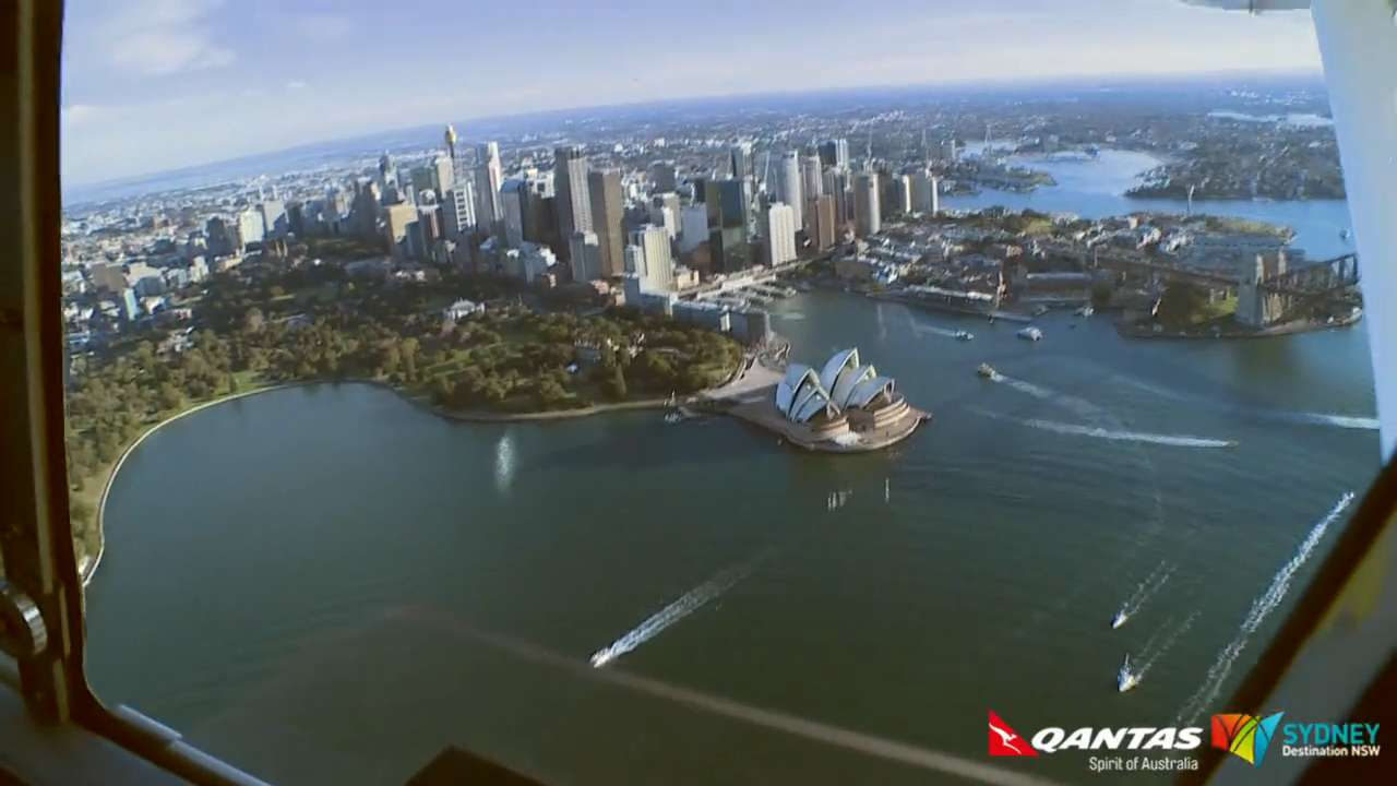 Sponsor Video: Get a view of Sydney from a seaplane