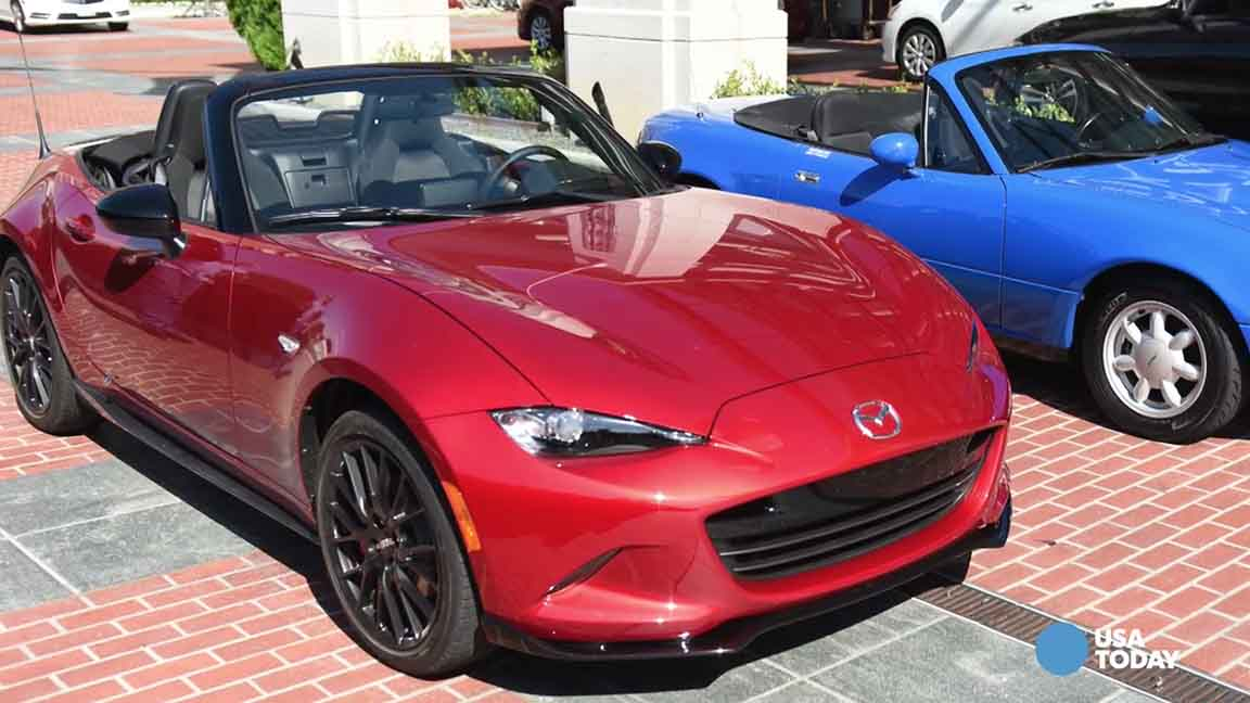 Mazda Miata goes retro