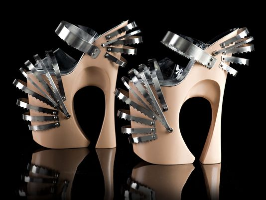 Lady Gaga's shoes weren't made for walking, says creator