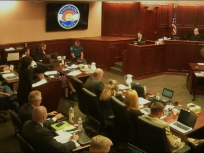 James Holmes' Sister: 'His Eyes Were Bulging'