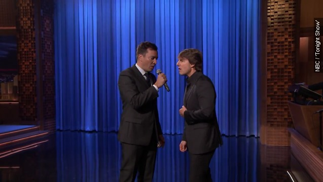 Watch Tom Cruise lip sync hit songs from his best movies
