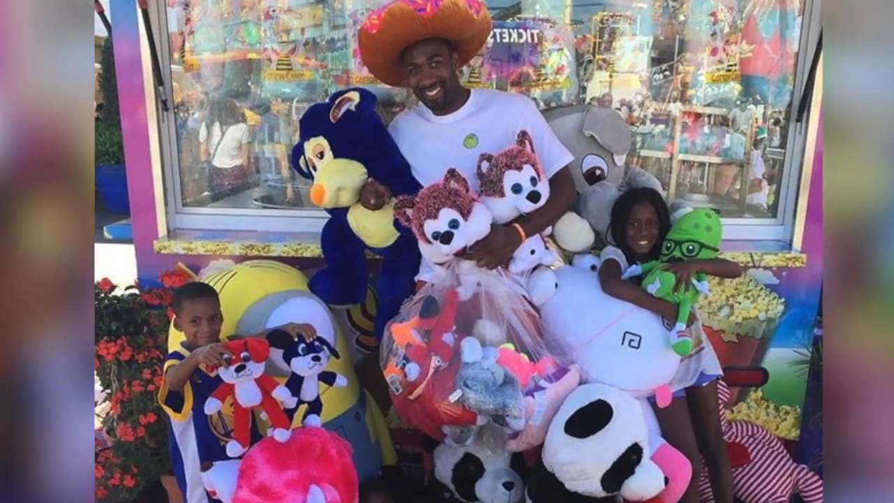 Former NBA star banned from county fair for winning too much