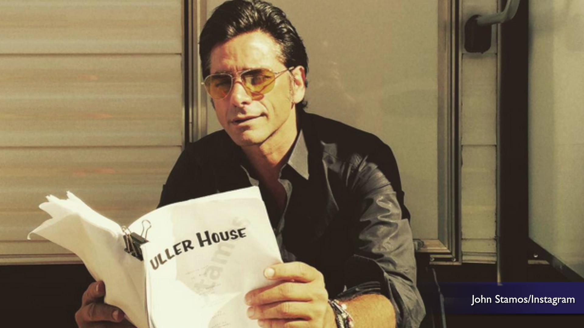 John Stamos posts new 'Fuller House' images on Instagram
