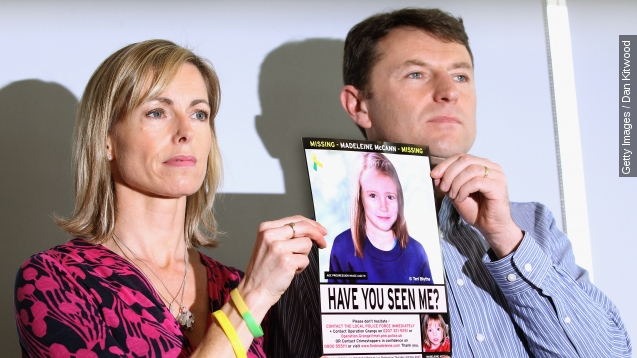 Child's body found in suitcase could be Madeleine McCann's