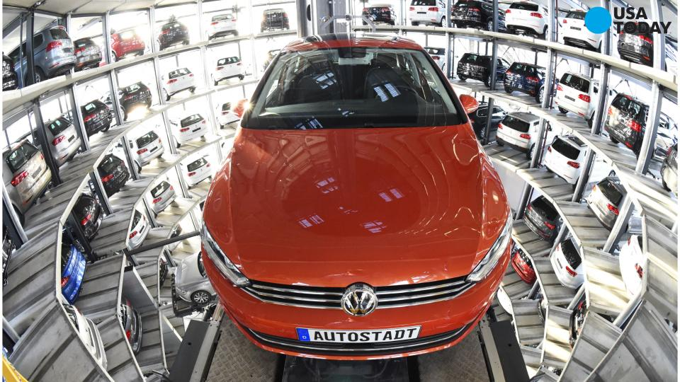 Volkswagen surpasses Toyota as world's largest automaker