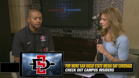 San Diego State's J.J. Whittaker On His Team's Top 20 Defense