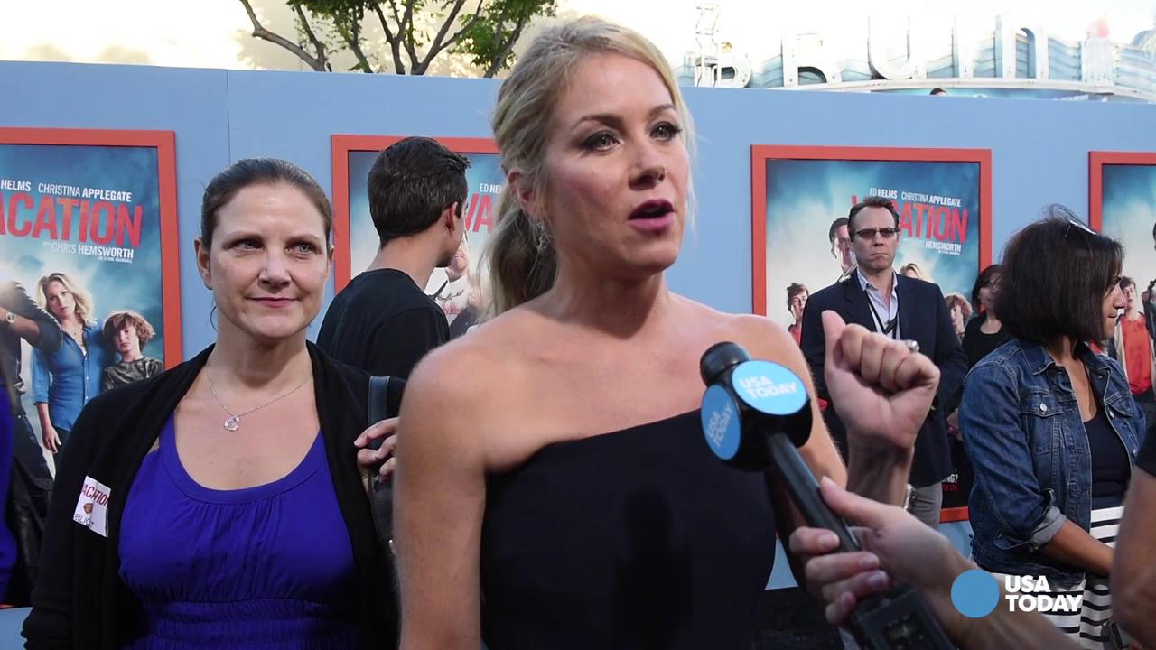 Sing-along with 'Vacation' star Christina Applegate