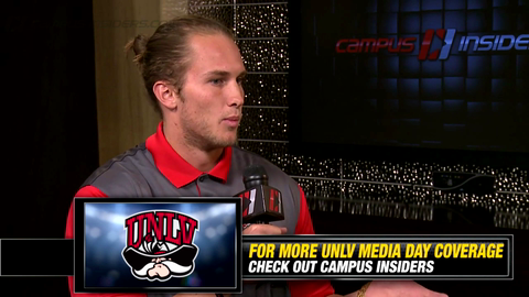 UNLV's Blake Decker On Offensive Coordinator Barney Cotton