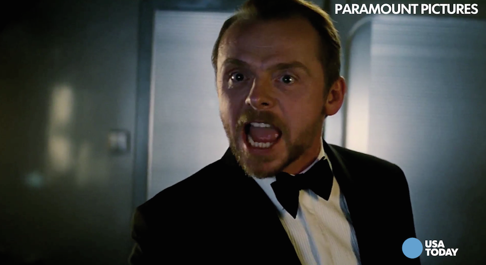 Simon Pegg talks 'Mission: Impossible' and how Tom Cruise stays so fit